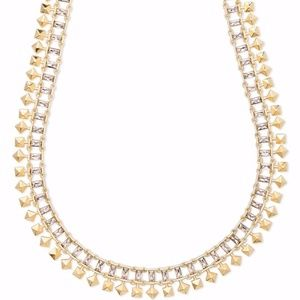 Kendra Scott Oscar Choker Necklace sparkle & studs
